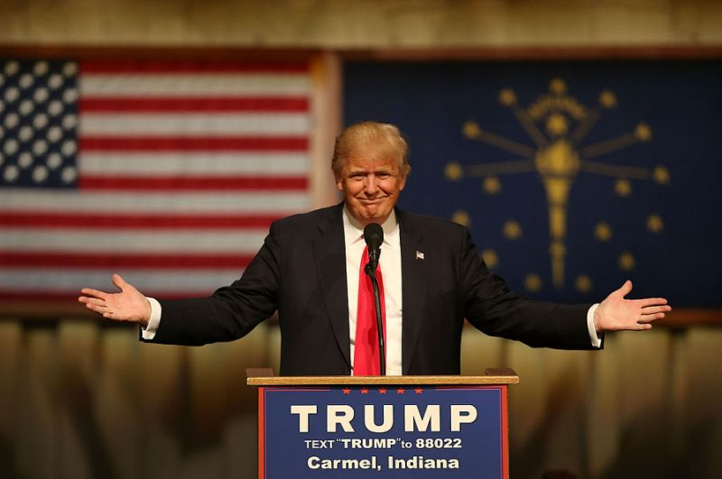 The 45th President-Elect of the US Donald J Trump