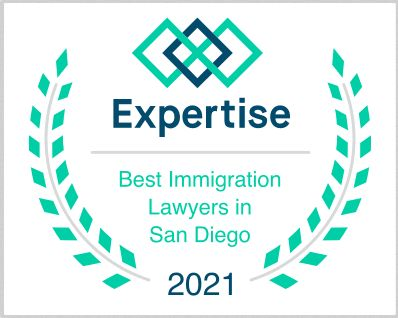 Expertise Best Immigration Lawyer San Diego 2021 Award